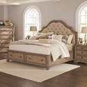 Coaster Ilana California King Storage Bed - Item Number: 205070KW