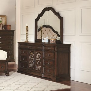 Coaster Ilana  Dresser and Mirror Set
