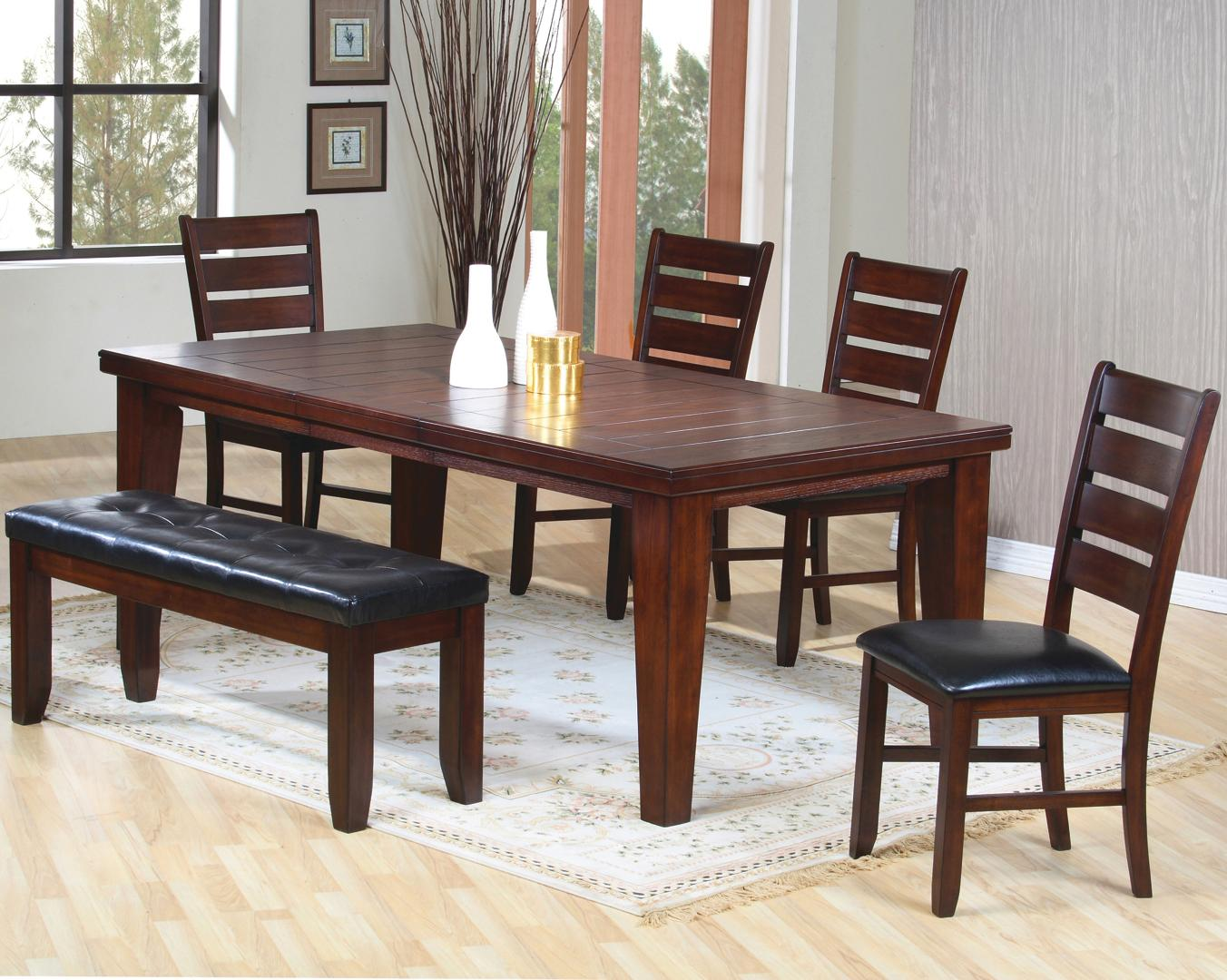 Coaster Imperial 6 Piece Dining Set - Item Number 101881+4x2+3 & Coaster Imperial 6 Piece Dining Set | Value City Furniture | Table ...