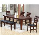 Coaster Imperial 6 Piece Dining Set