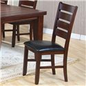Coaster Imperial Ladder Back Side Chair - Item Number: 101882