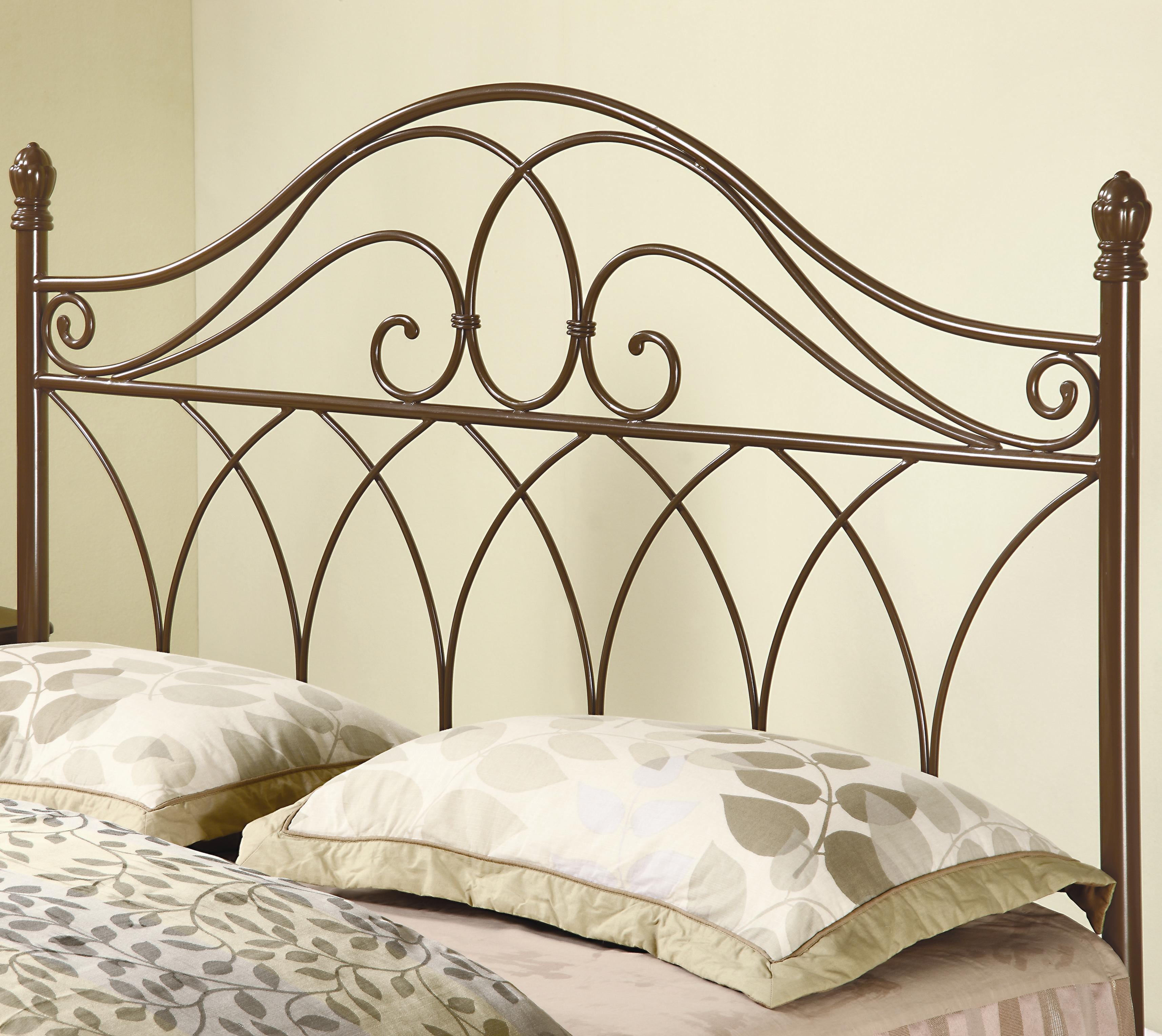 Coaster Iron Beds And Headboards Full Queen Brown Metal Headboard