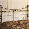 Coaster Iron Beds and Headboards Headboard - Item Number: 300196Q