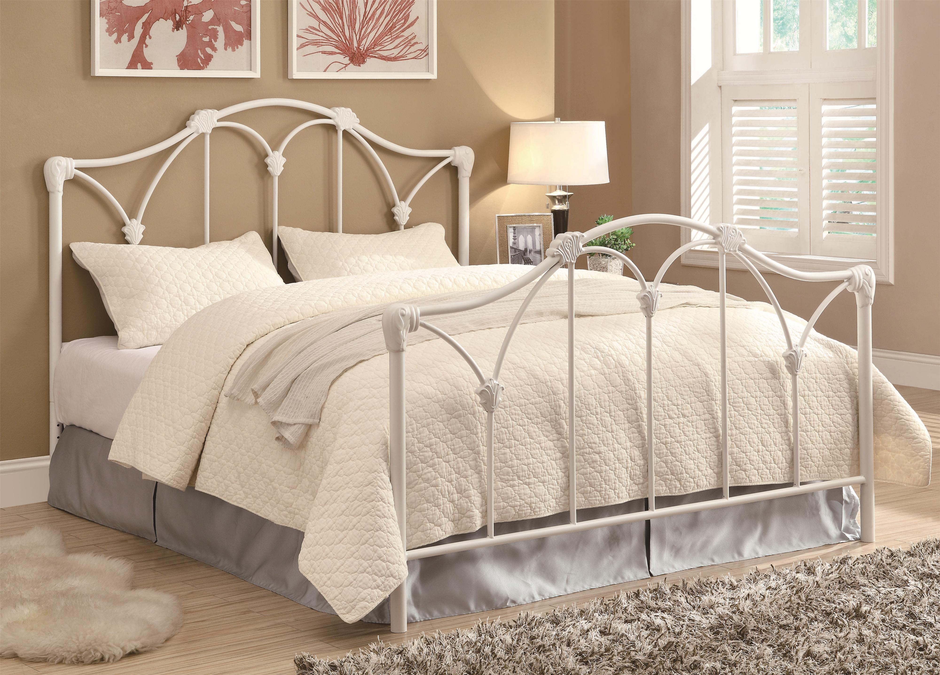Coaster Iron Beds and Headboards Queen Bed - Item Number: 300257+1208