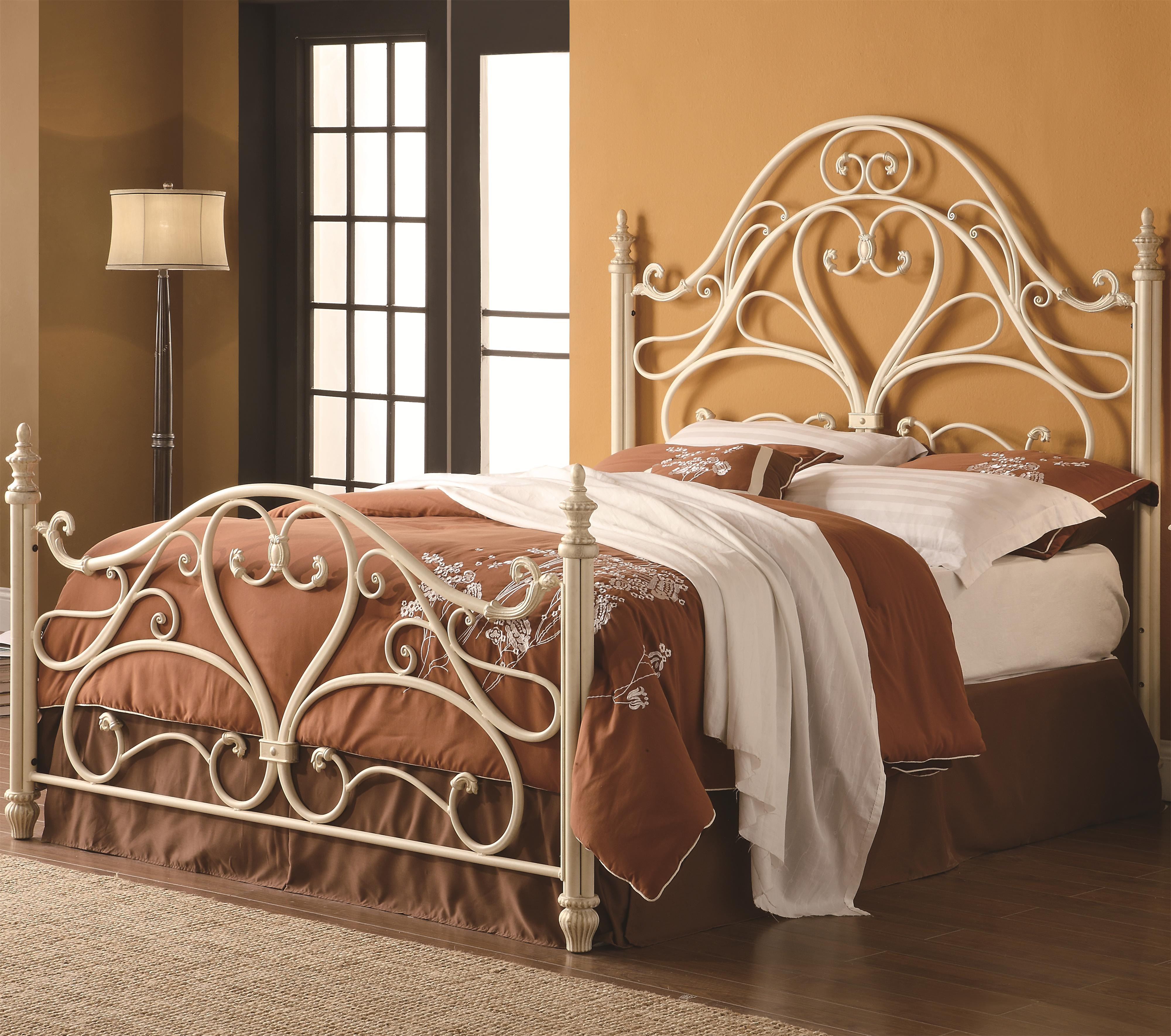 Bed frames headboards - Coaster Iron Beds And Headboards Queen Iron Bed Item Number 300264q 1208