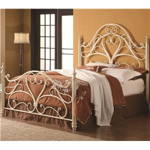 Coaster Iron Beds and Headboards Queen Iron Bed- FRAME IS NOT INCLUDED
