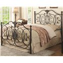 Coaster Iron Beds and Headboards Gianna Queen Iron Bed - Item Number: 300392Q+1208