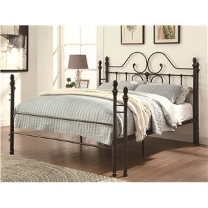 Coaster Iron Beds and Headboards Queen Bed
