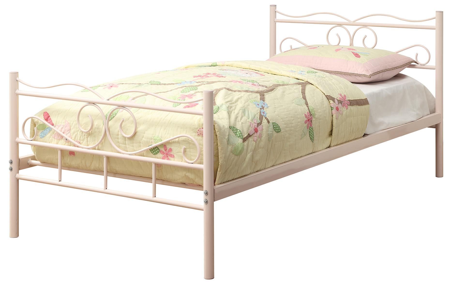 Coaster Iron Beds and Headboards Twin Bed - Item Number: 400030T