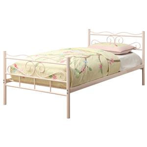 Coaster Iron Beds and Headboards Twin Bed