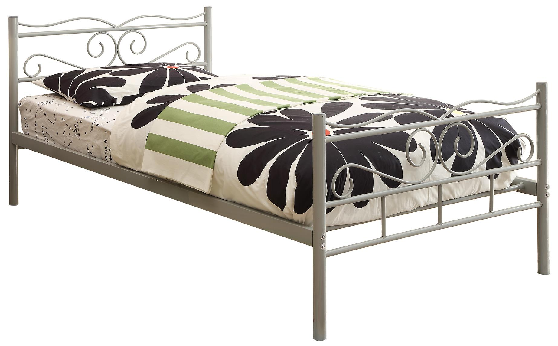 Coaster Iron Beds and Headboards Twin Bed - Item Number: 400154T