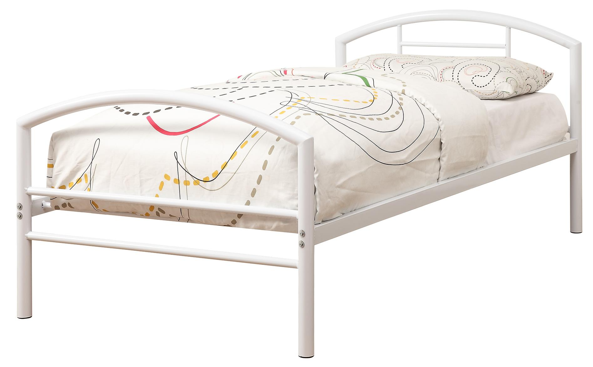 Coaster Iron Beds and Headboards Twin Bed - Item Number: 400158T