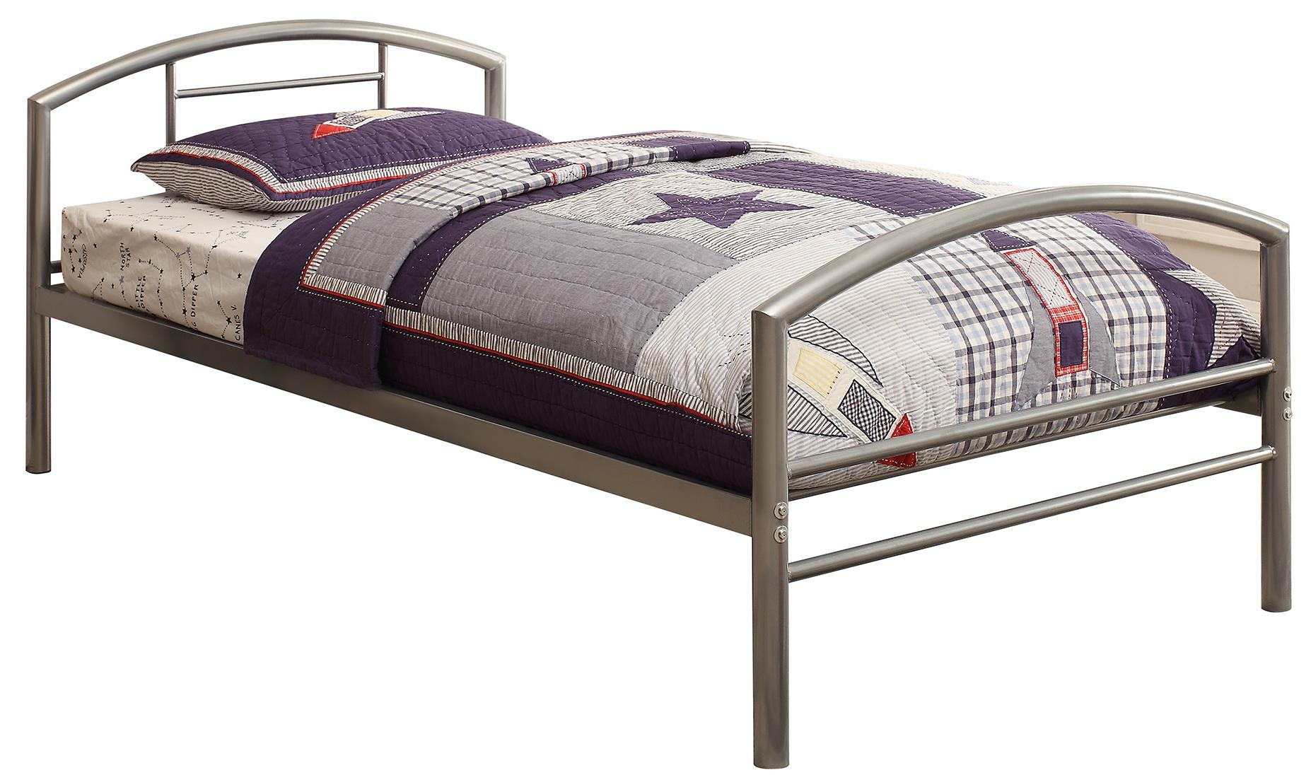 Coaster Iron Beds and Headboards Twin Bed - Item Number: 400159T
