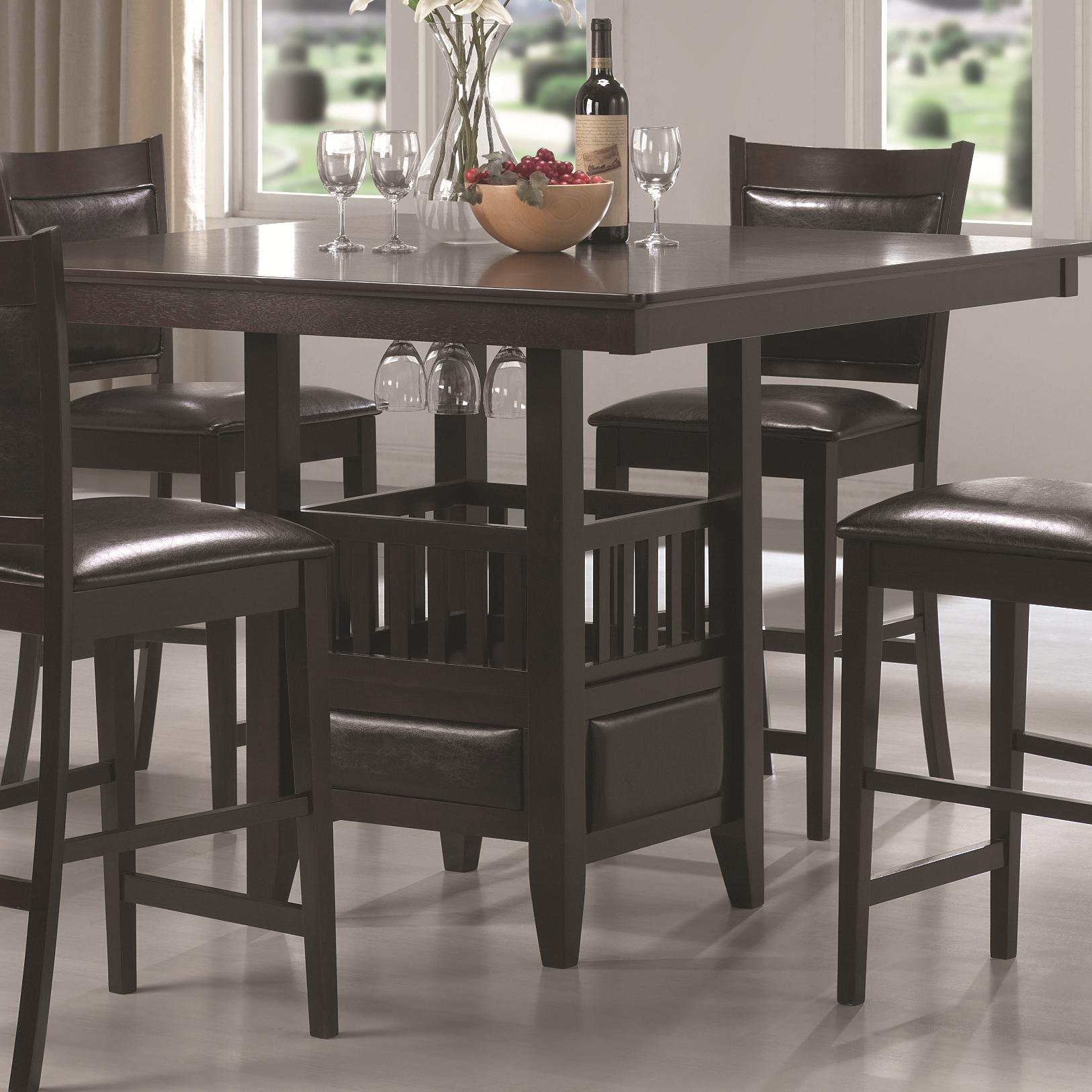 Coaster Jaden Counter Height Table - Item Number: 100958