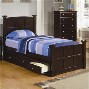 Coaster Jasper Twin Storage Bed