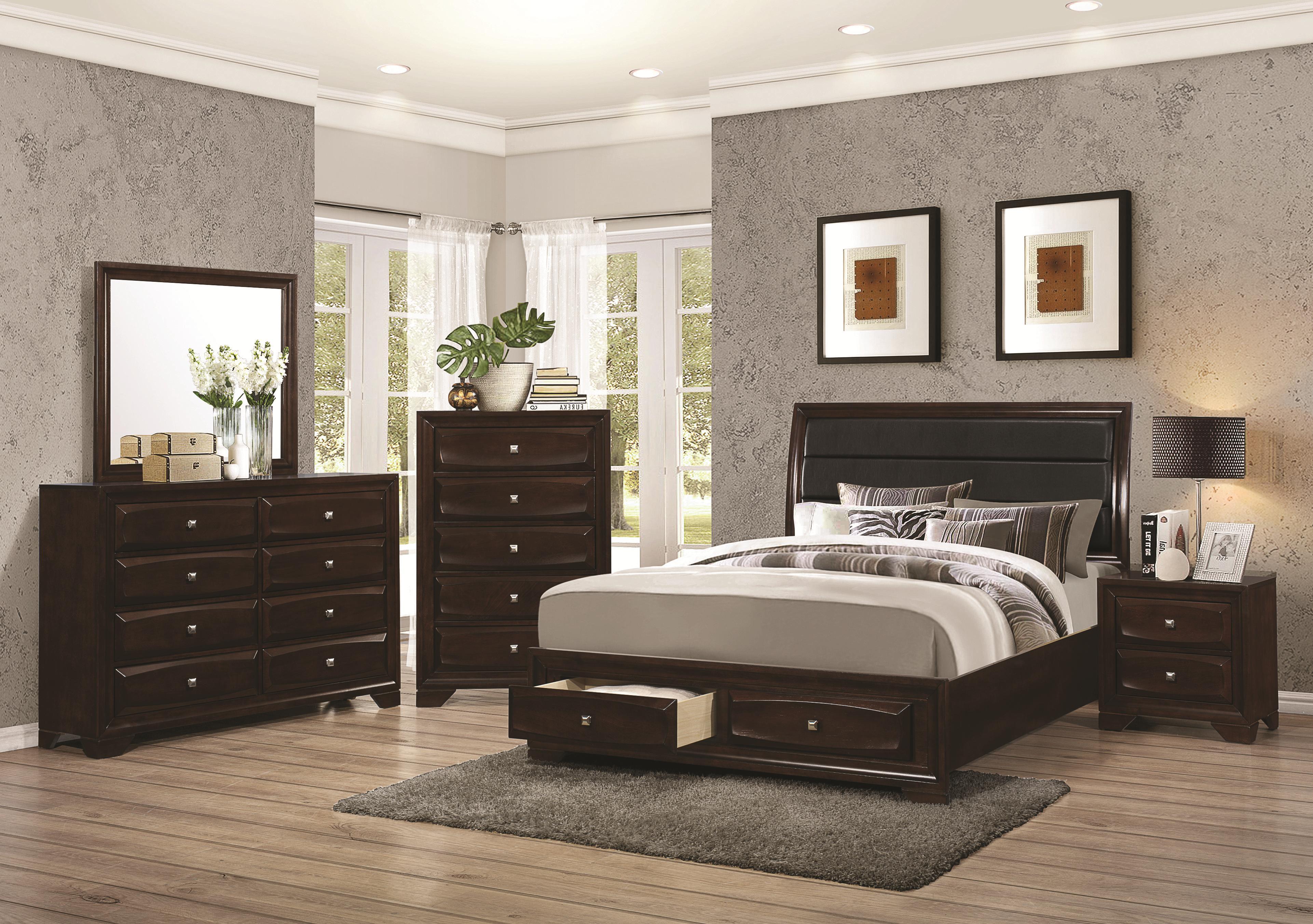 Coaster Jaxson 203481kw California King Bed With