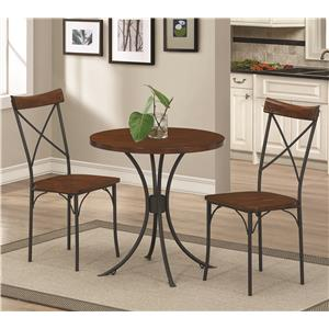 Coaster Jervis 3 Piece Bistro Set