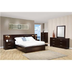 Coaster Jessica Queen Bedroom Group