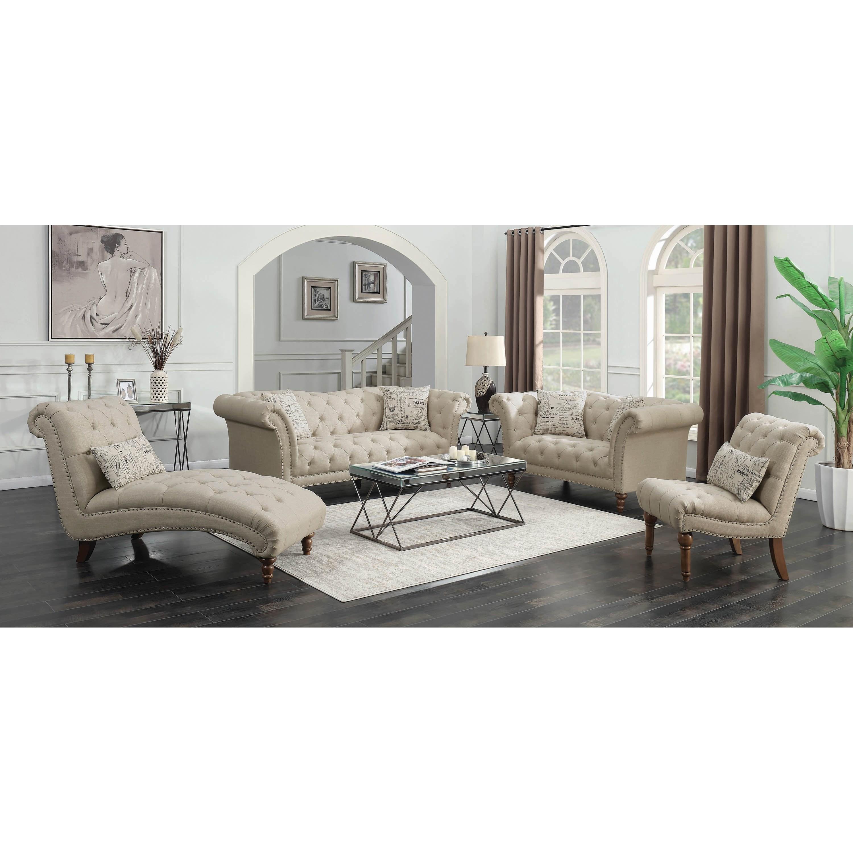 Fine Living Room Furniture: Fine Furniture Josephine Living Room Group