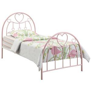 Coaster Juliette Twin Metal Bed