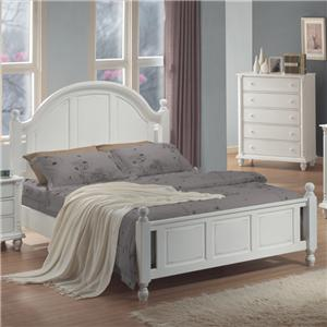 Coaster Kayla Queen Headboard & Footboard Bed