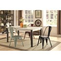 Coaster Keller Rectangular Dining Table - Item Number: 104161