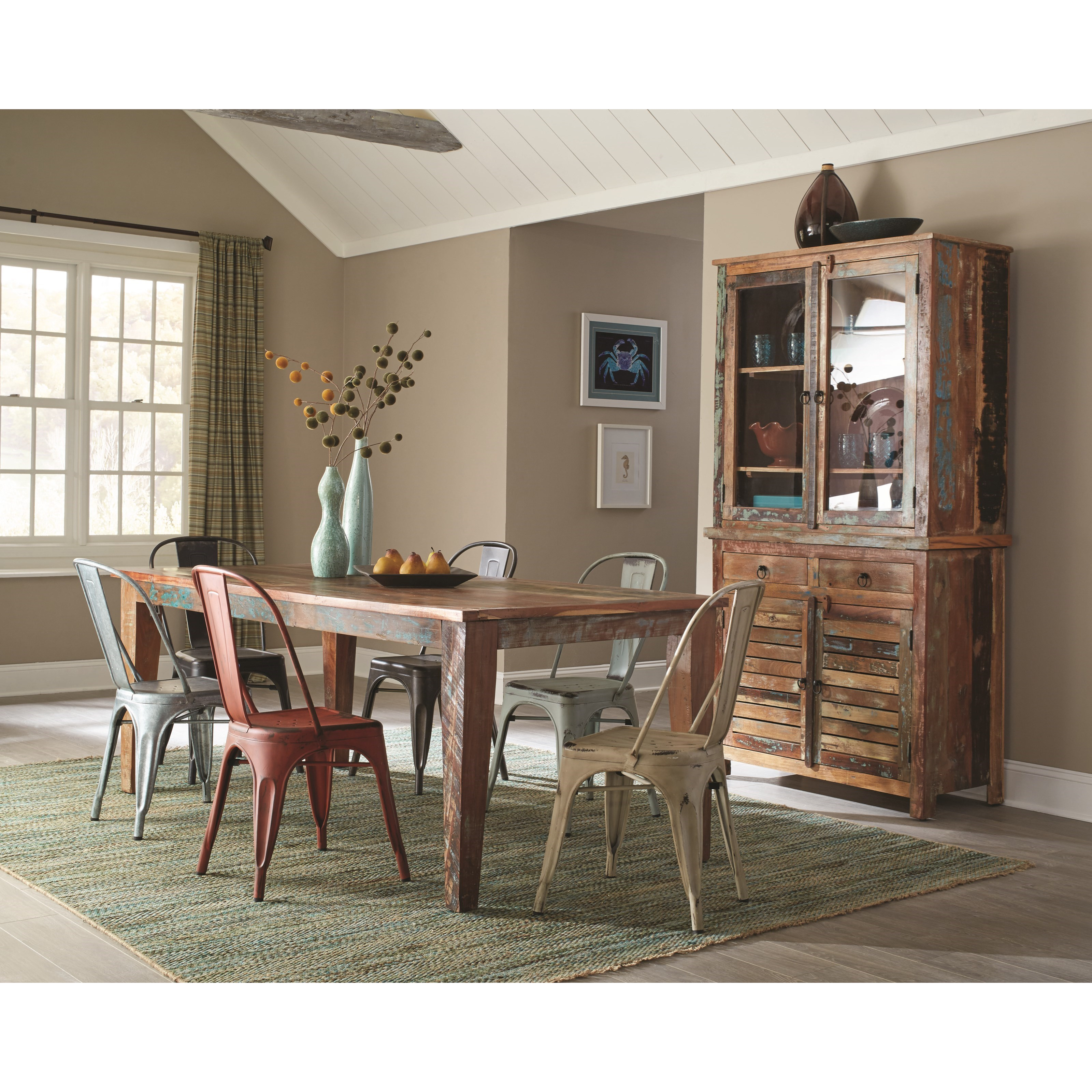 Coaster Keller Casual Dining Room Group - Item Number 1801 Dining Room Group 1  sc 1 st  Lapeer Furniture u0026 Mattress Center & Coaster Keller Casual Dining Room Group | Lapeer Furniture ...