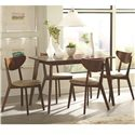 Coaster Kersey 5 Piece Dining Set - Item Number: 103061+4X103062
