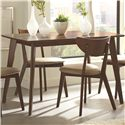 Coaster Kersey Dining Table with Angled Legs - 103061