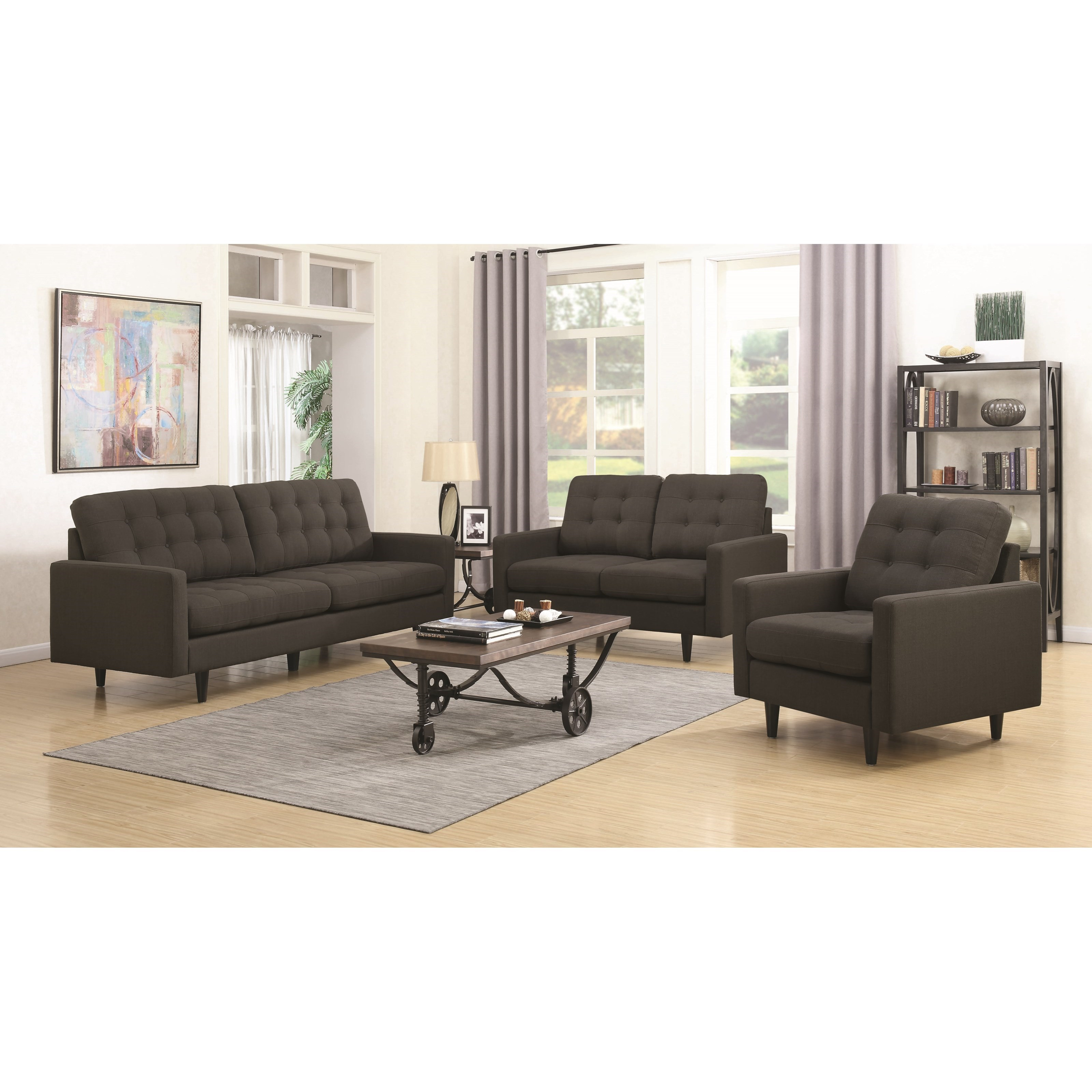 Coaster Kesson Living Room Group - Item Number: 505370 Living Room Group 2