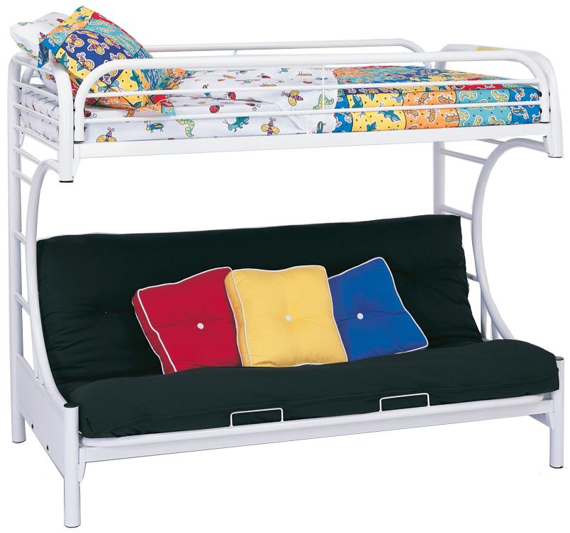 Coaster Fordham Twin Over Futon Bunk Bed - Item Number: 2253W