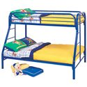 Coaster Fordham Twin Over Full Bunk Bed