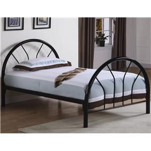 Coaster Fordham Twin Metal Bed