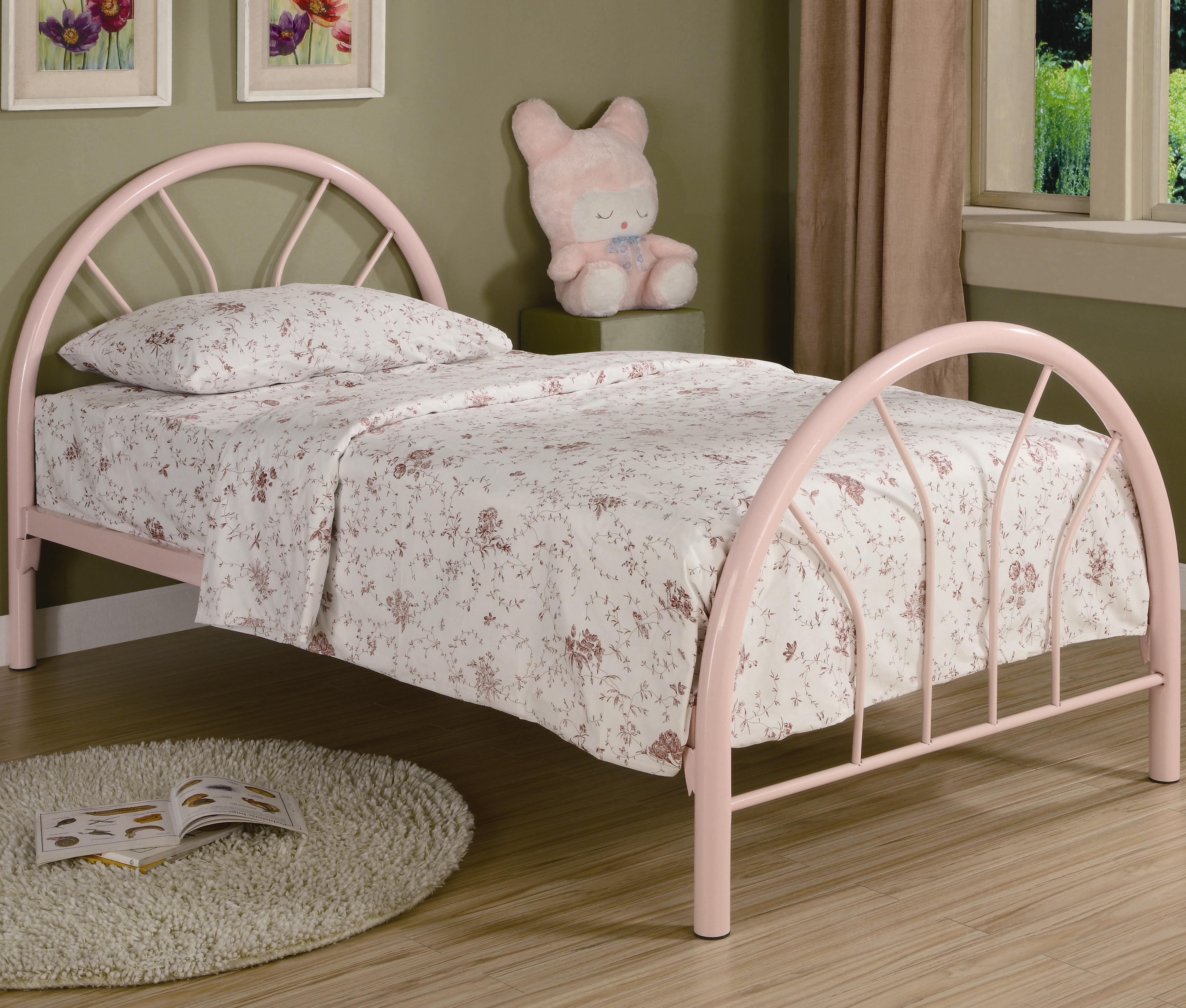 Coaster Fordham Twin Metal Bed - Item Number: 2389P