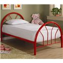 Coaster Fordham Twin Metal Bed - Item Number: 2389R