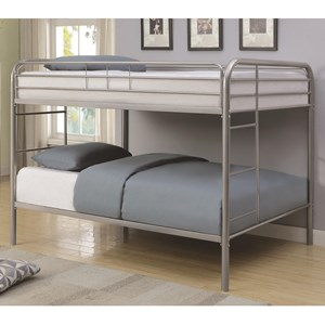 Coaster Metal Beds Full Bunk Bed