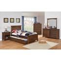 Coaster Kinsley Full Bedroom Group - Item Number: 40100 F Bedroom Group 1