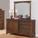 Coaster Kinsley Dresser + Mirror Set - Item Number: 401003+401004