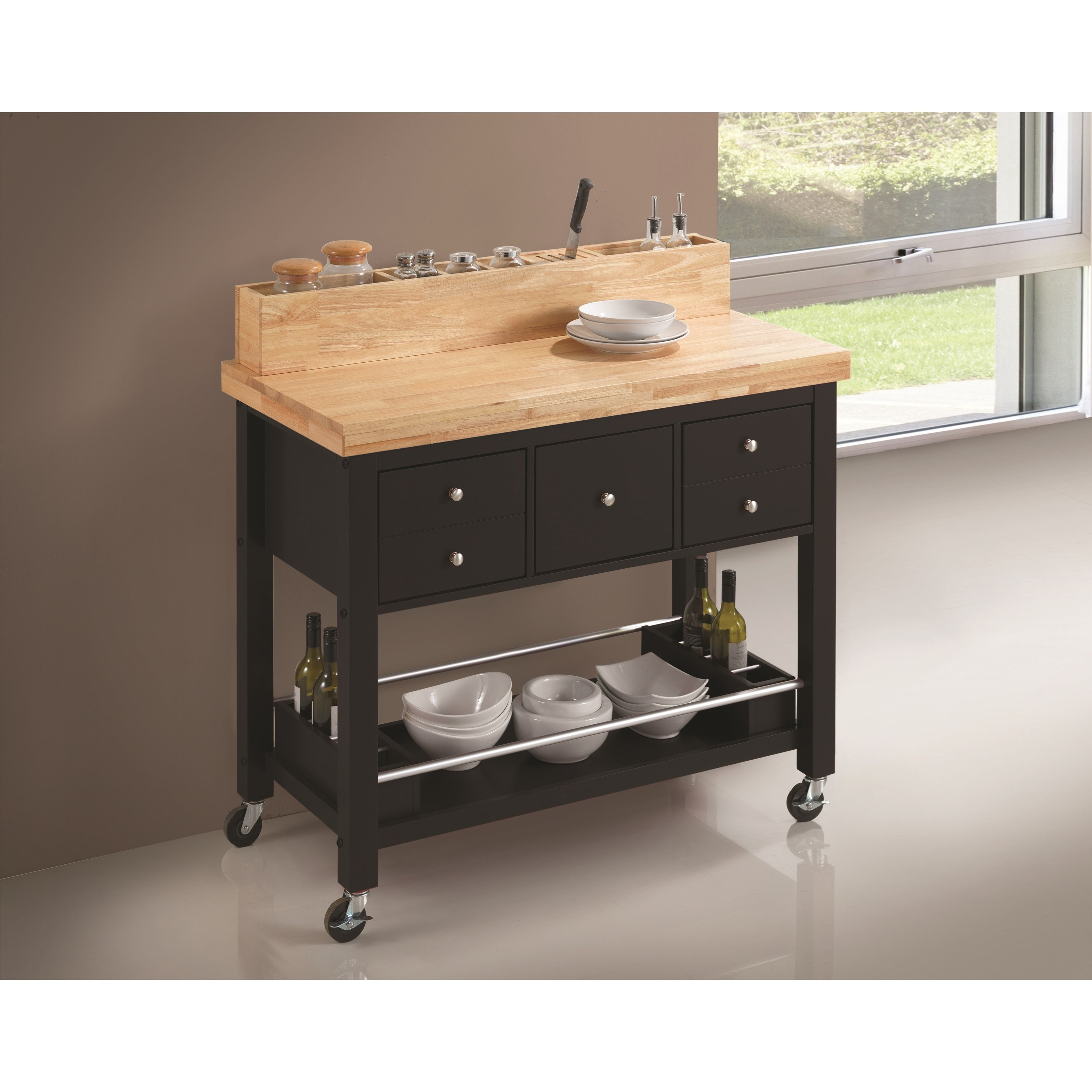 Coaster Kitchen Carts Kitchen Island - Item Number: 102668