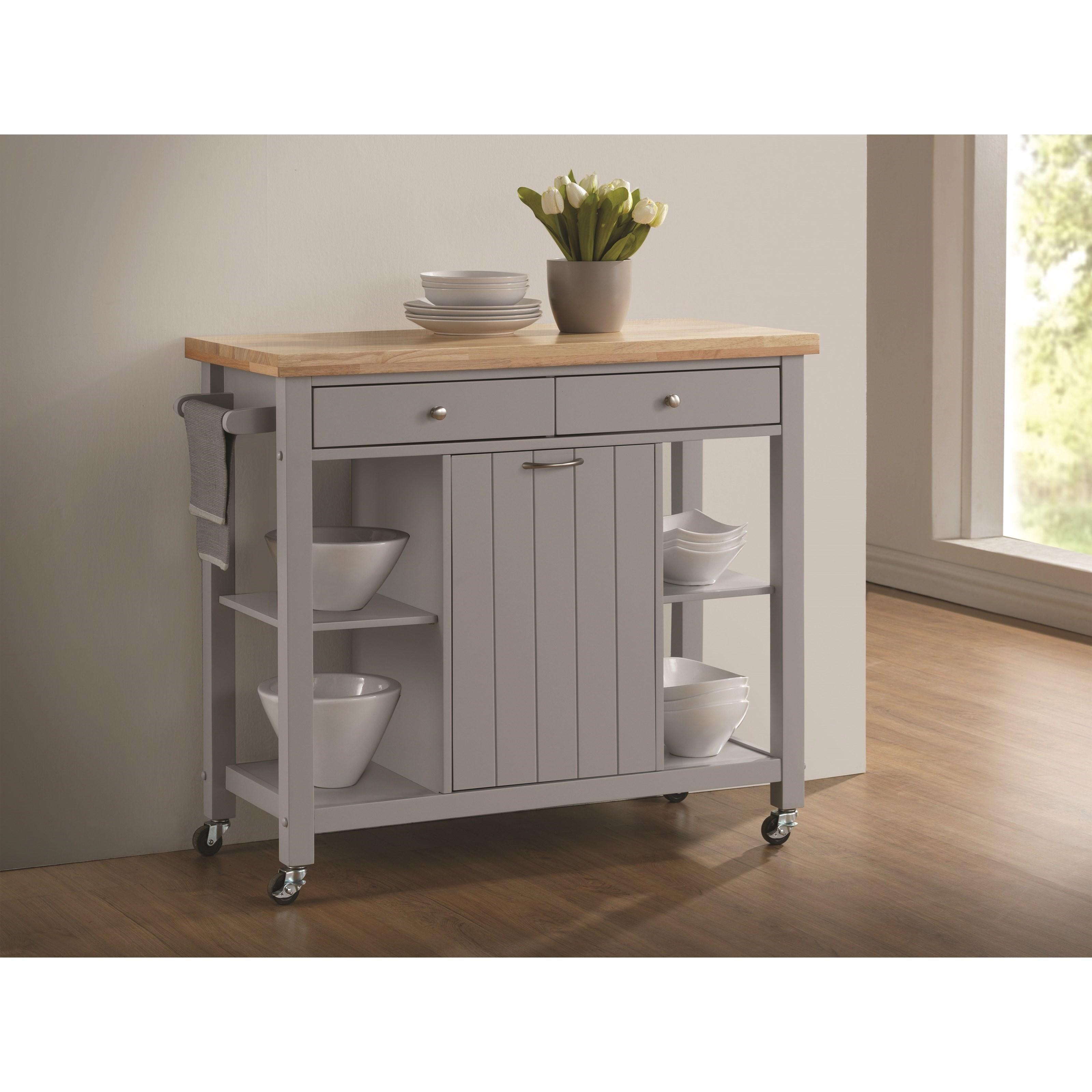 Coaster Kitchen Carts Kitchen Island - Item Number: 102674