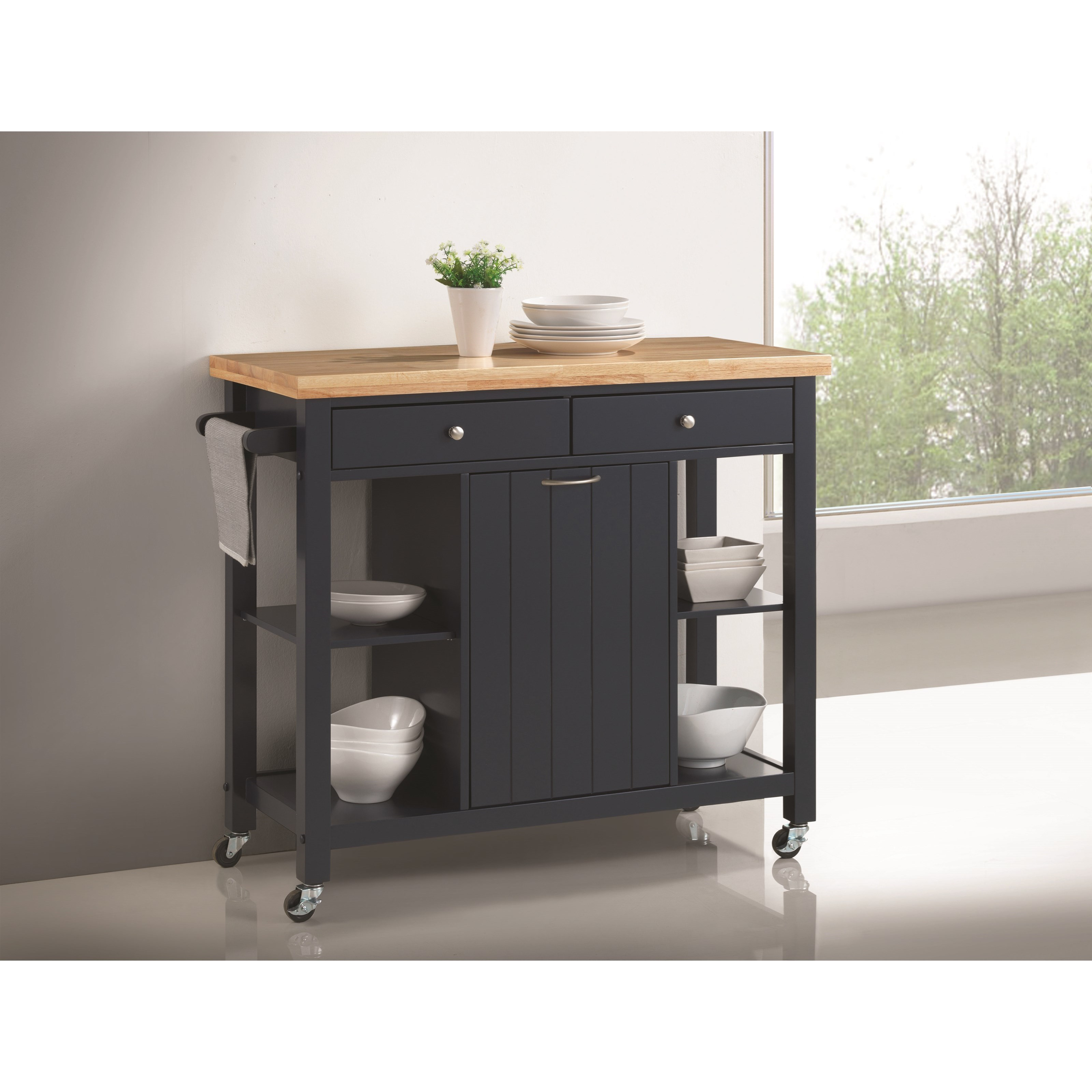 Coaster Kitchen Carts Kitchen Island - Item Number: 102675