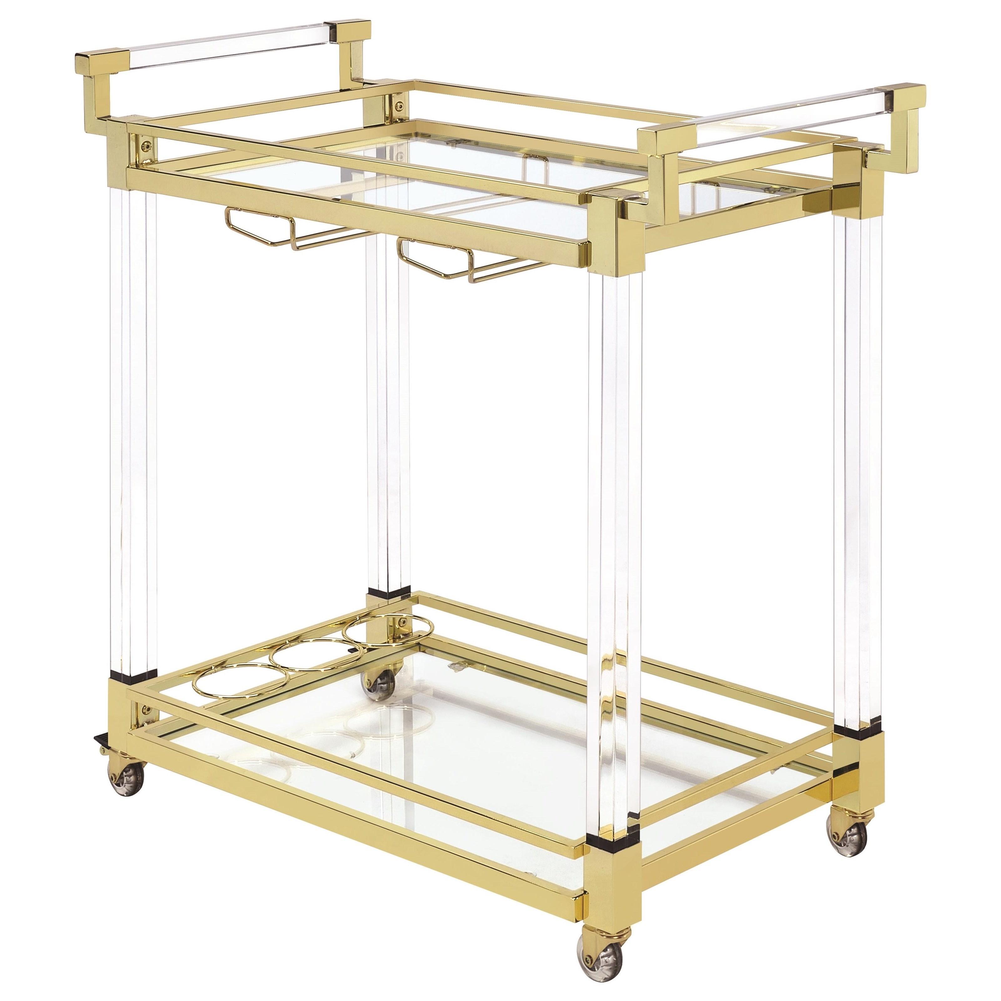Coaster Kitchen Carts Serving Cart - Item Number: 181000