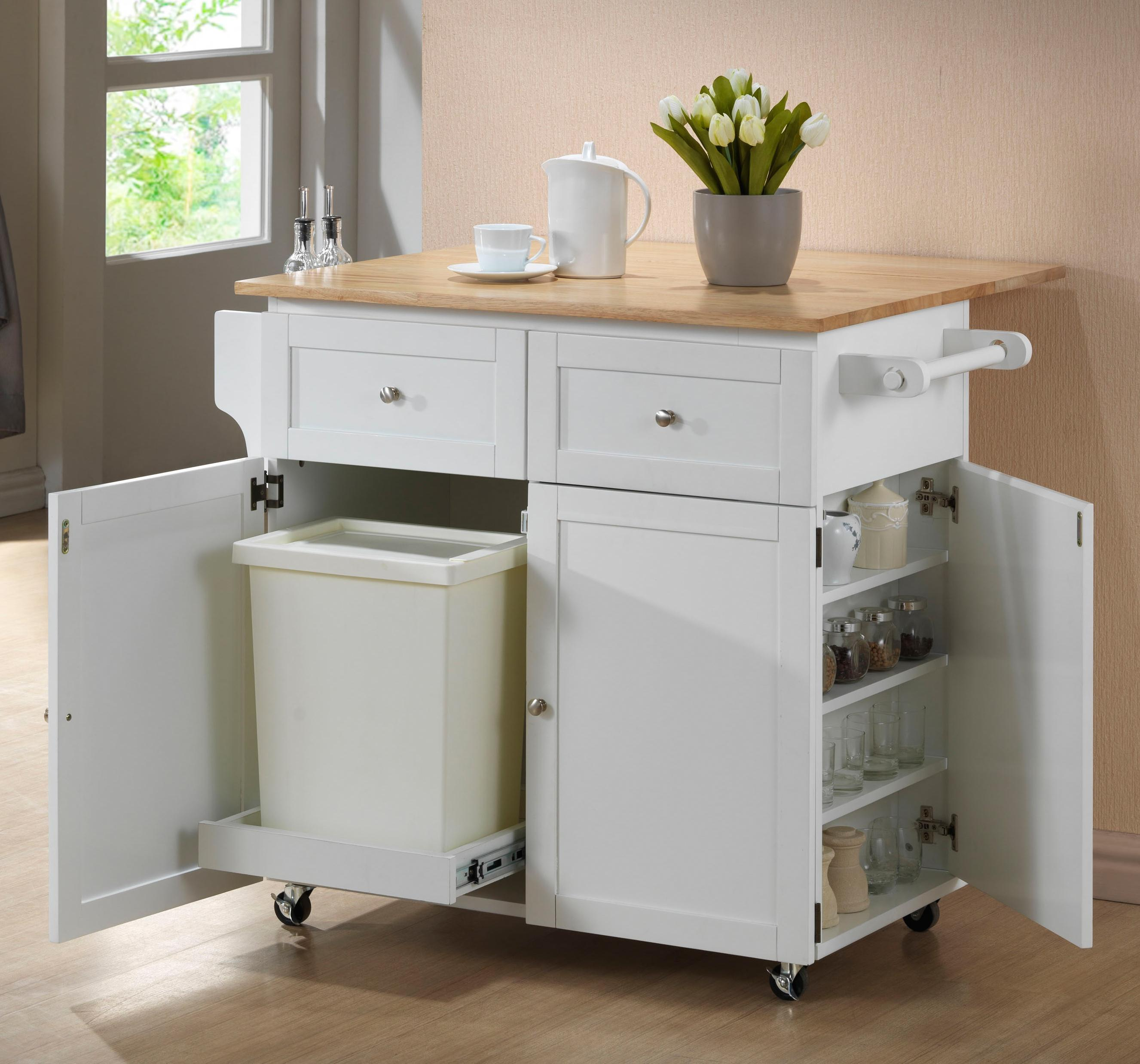 Coaster Kitchen Carts 900558 Kitchen Cart | Northeast Factory Direct ...