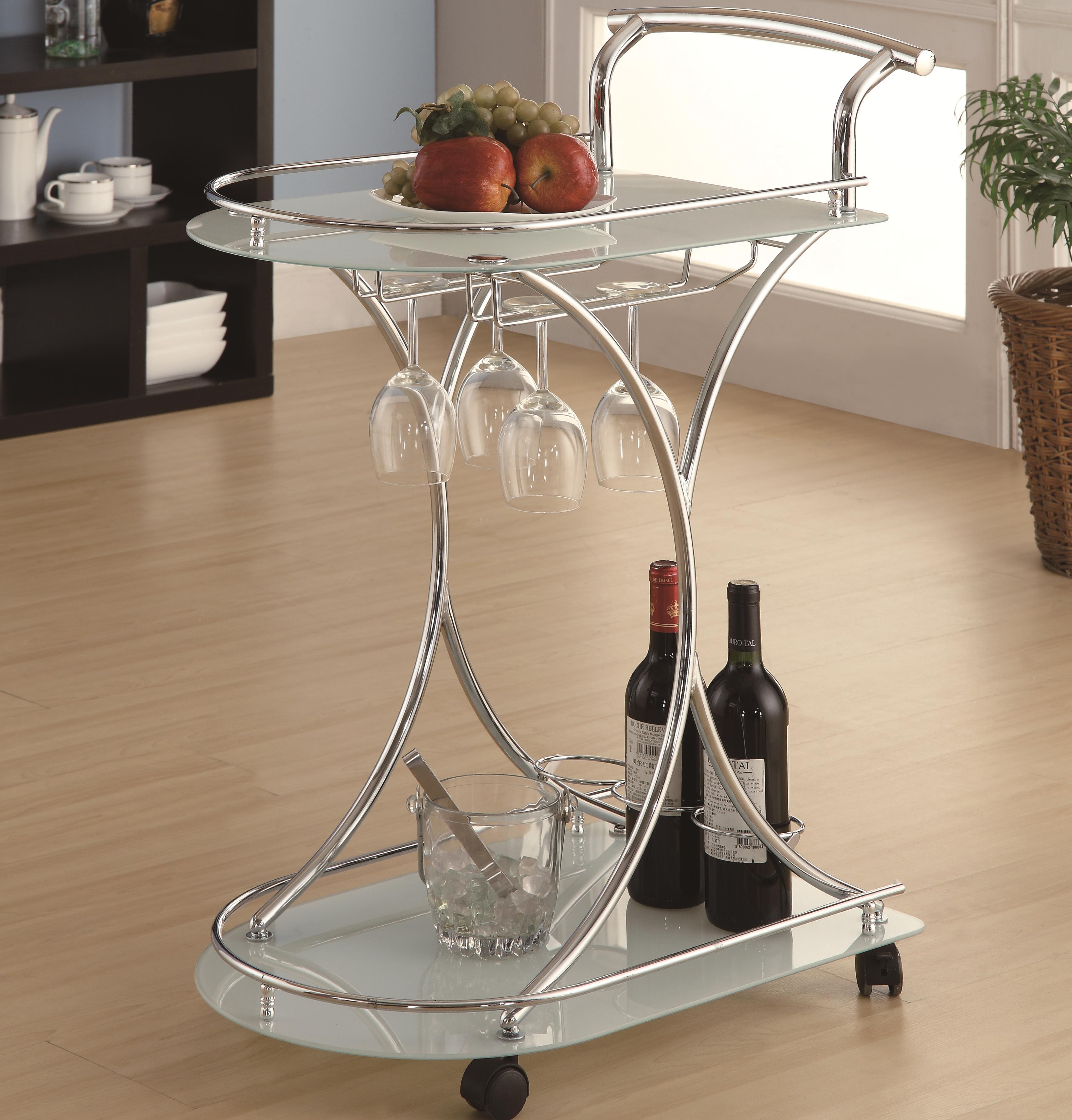 Coaster Kitchen Carts Serving Cart - Item Number: 910002