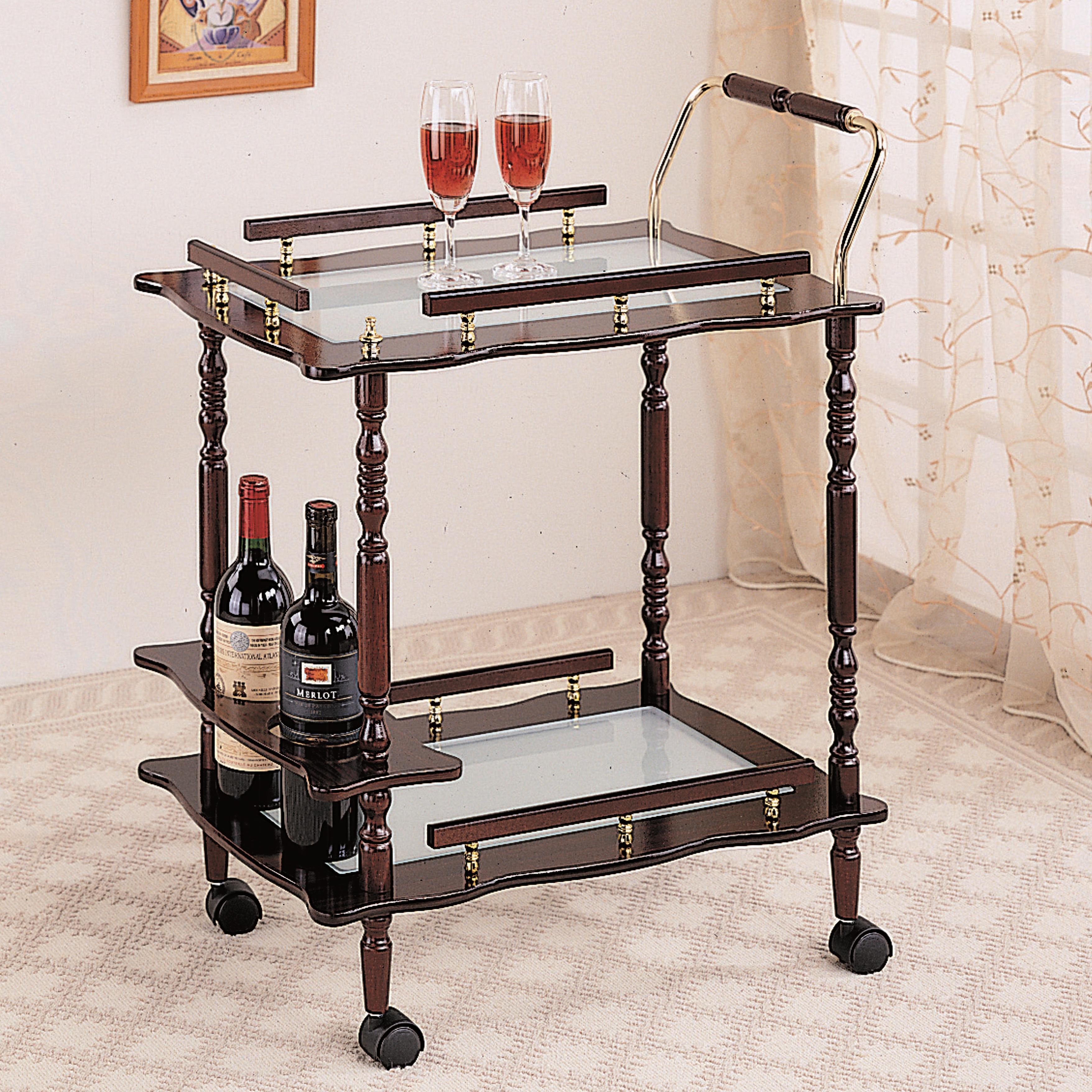 Coaster Kitchen Carts Serving Cart - Item Number: 910010
