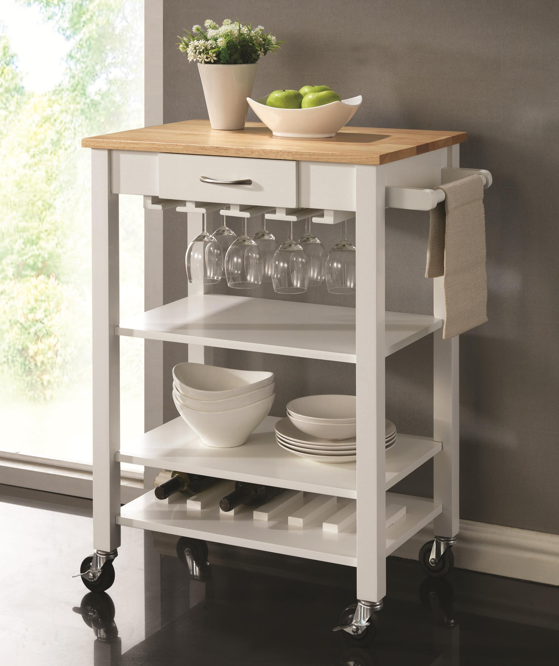 Coaster Kitchen Carts Kitchen Cart   Item Number: 910025