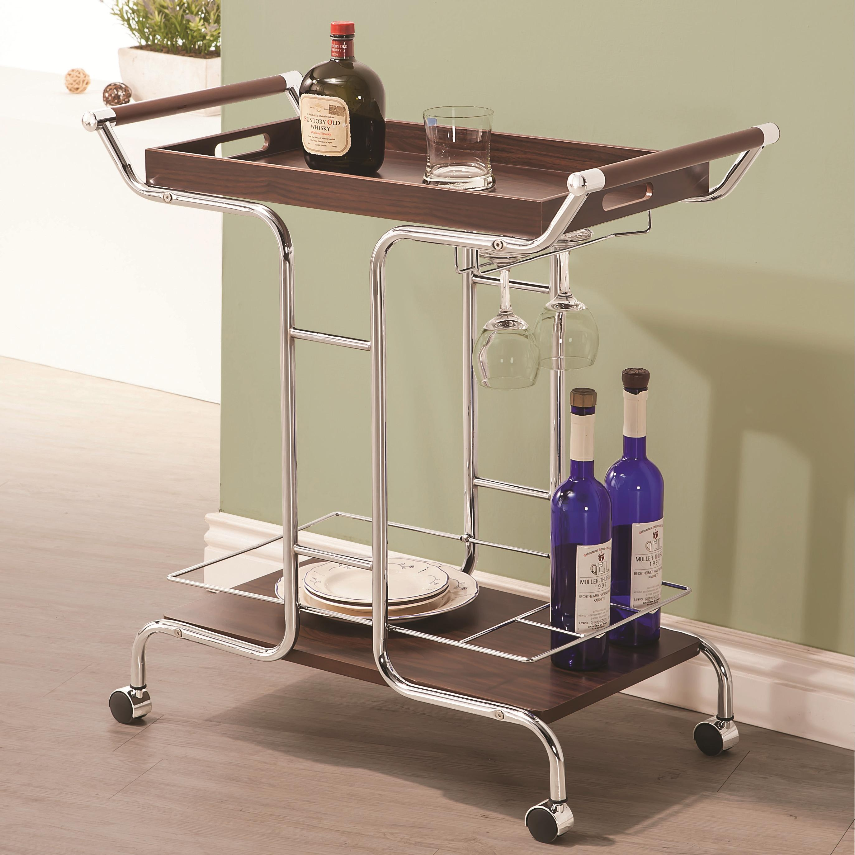 Coaster Kitchen Carts Serving Cart - Item Number: 910065