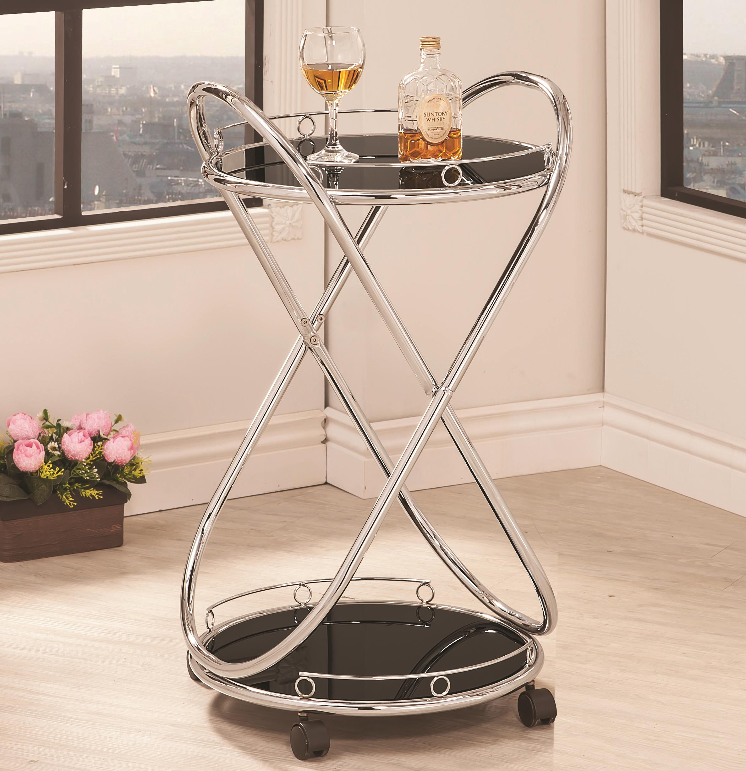 Coaster Kitchen Carts Serving Cart - Item Number: 910074