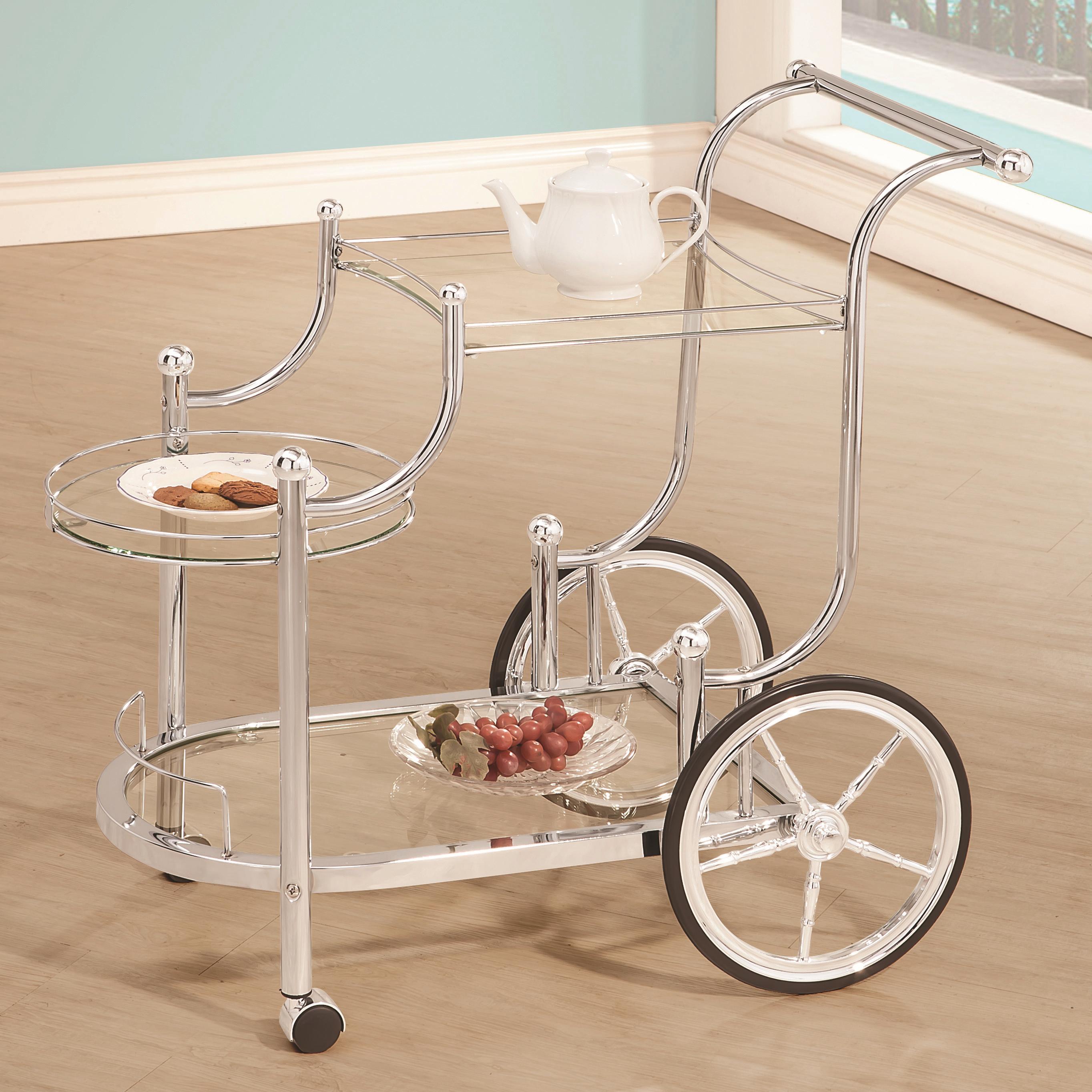 Coaster Kitchen Carts Serving Cart - Item Number: 910076