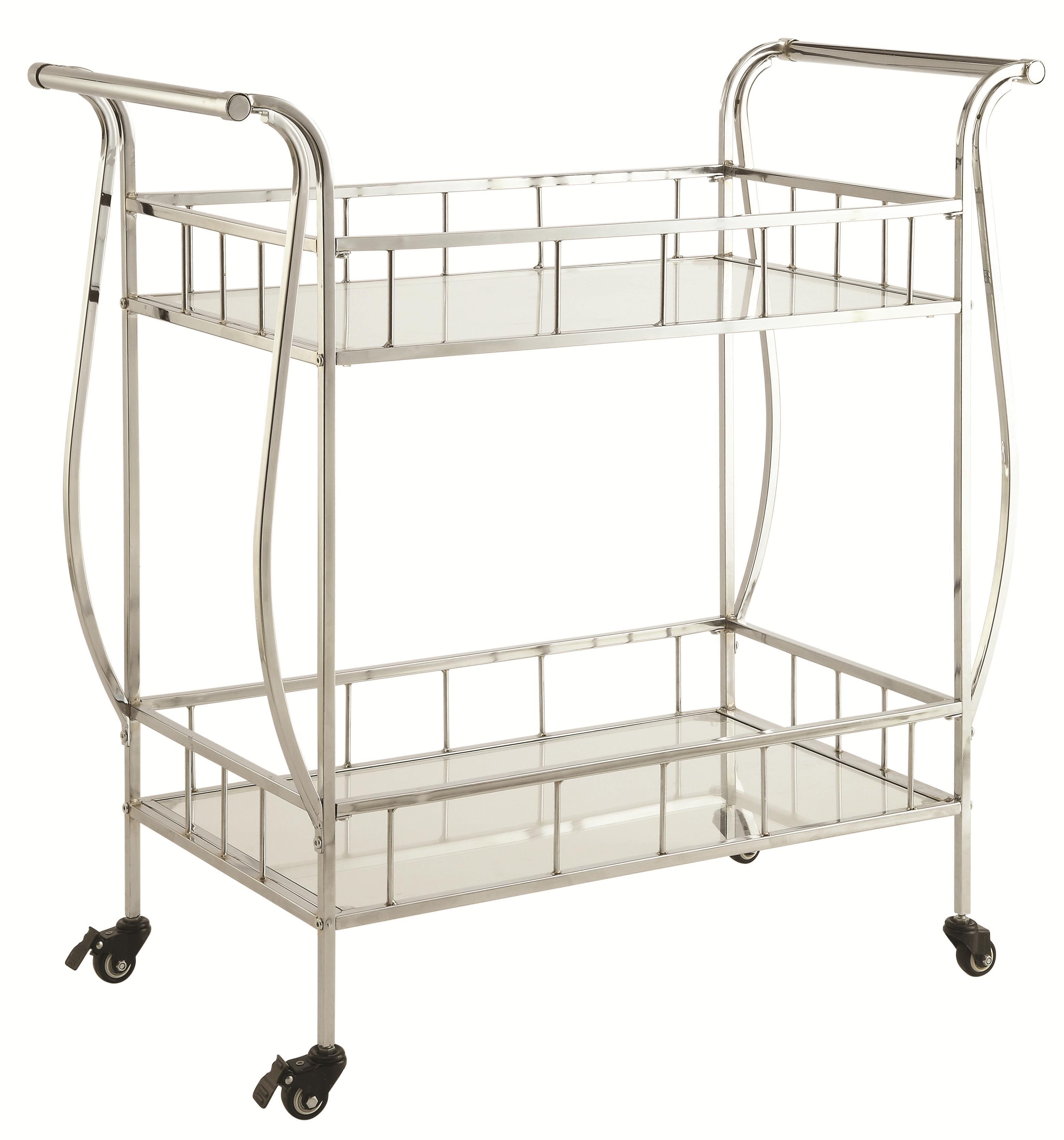 Coaster Kitchen Carts Serving Cart - Item Number: 910095